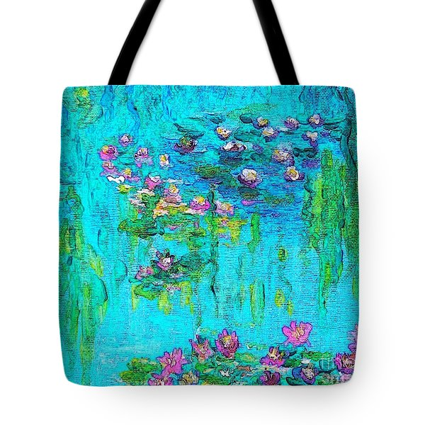 Tribute To Monet Tote Bag by Holly Martinson