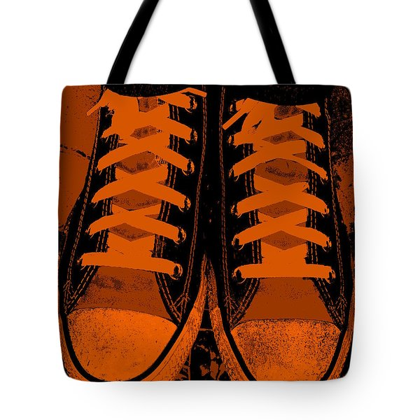 Trick Or Treat Feet Tote Bag by Ed Smith