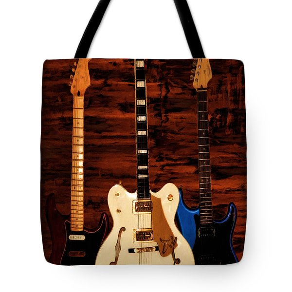 Trio Tote Bag by Lourry Legarde