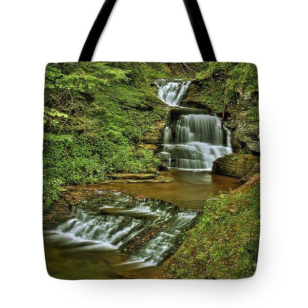 Tripple Decker Tote Bag by Evelina Kremsdorf