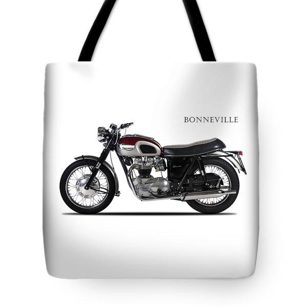 Triumph Bonneville 1968 Tote Bag by Mark Rogan