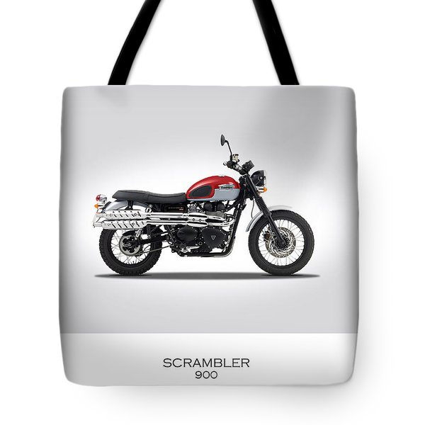 Triumph Scrambler 2015 Tote Bag by Mark Rogan