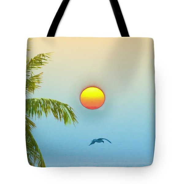 Tropical Sun Tote Bag by Bill Cannon