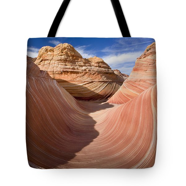 Trough Of The Wave Tote Bag by Mike  Dawson