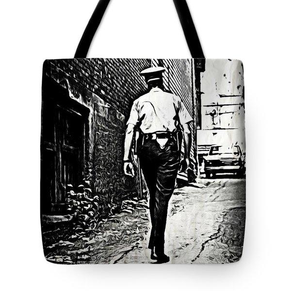 True Grit Tote Bag by John Malone