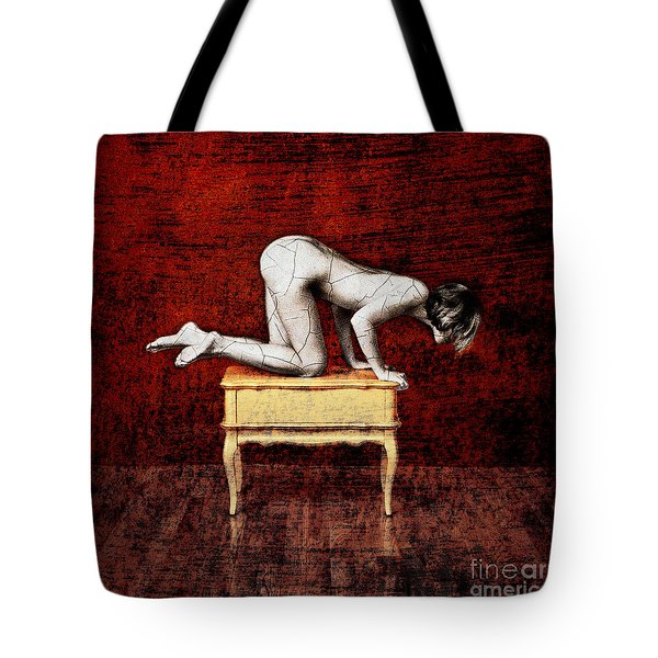 Truth From Fiction Tote Bag by Andre Giovina