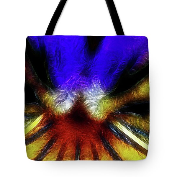 Trying to Fit Into a Size Two Tote Bag by Wingsdomain Art and Photography