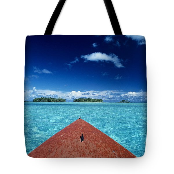 Tuamotu Islands, Raiatea Tote Bag by William Waterfall - Printscapes