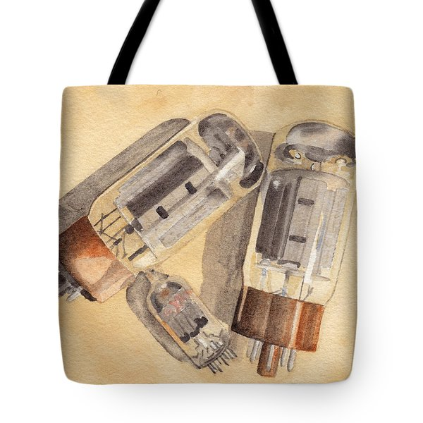 Tubes Tote Bag by Ken Powers