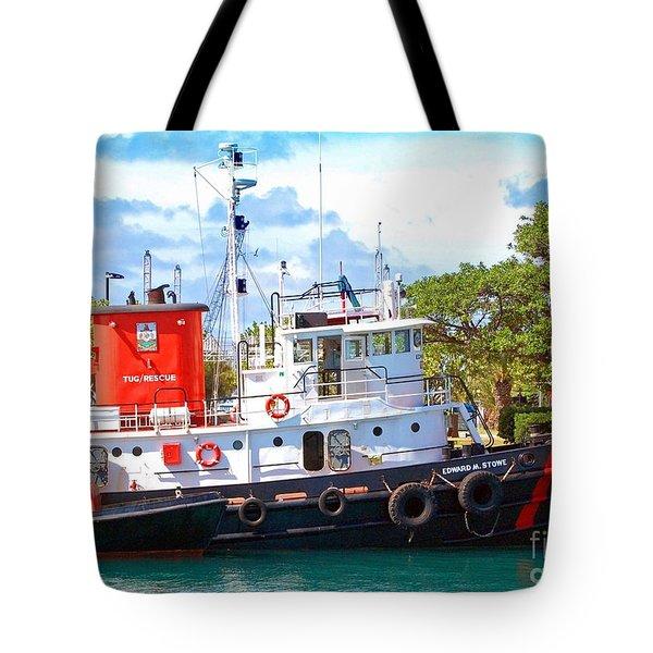 Tug on it Tote Bag by Debbi Granruth