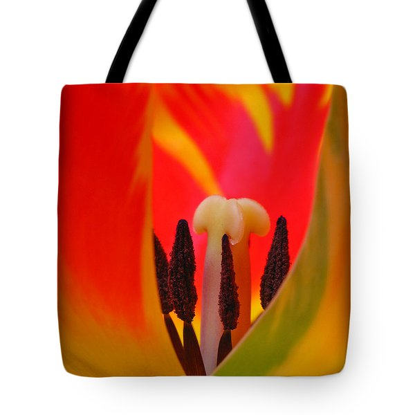 Tulip Intimate Tote Bag by Juergen Roth