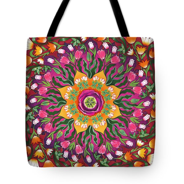 Tulip Mania 2 Tote Bag by Isobel  Brook Haslam