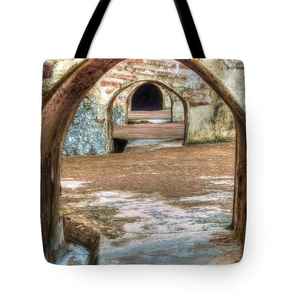 Tunnel Vision Tote Bag by Michael Garyet