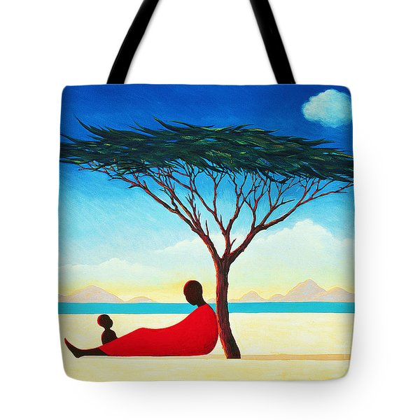 Turkana Afternoon Tote Bag by Tilly Willis