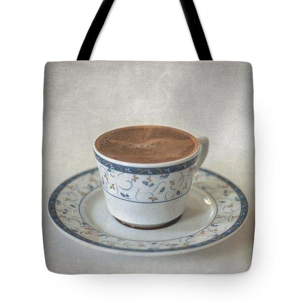 Turkish Coffee Tote Bag by Taylan Soyturk