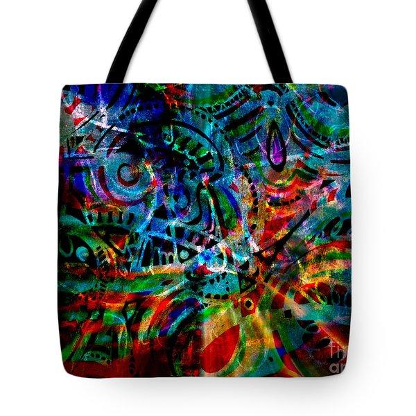 Turmoil Tote Bag by WBK