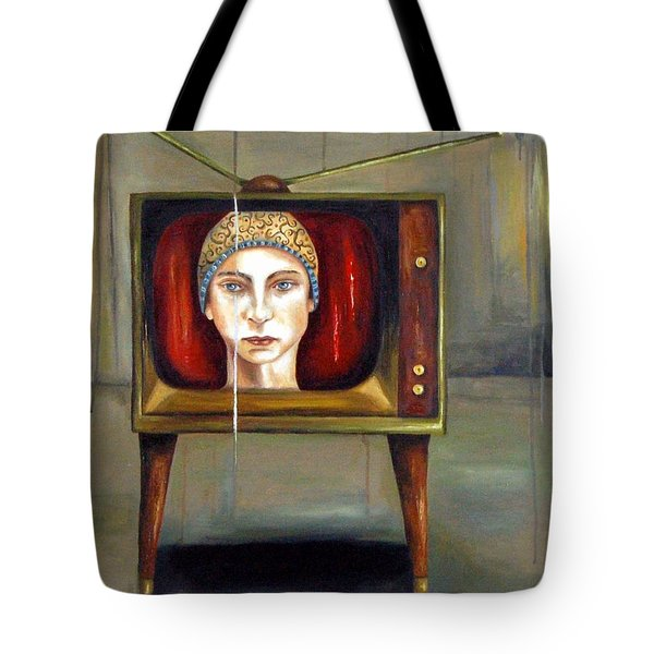 Tv Series 1 Tote Bag by Leah Saulnier The Painting Maniac