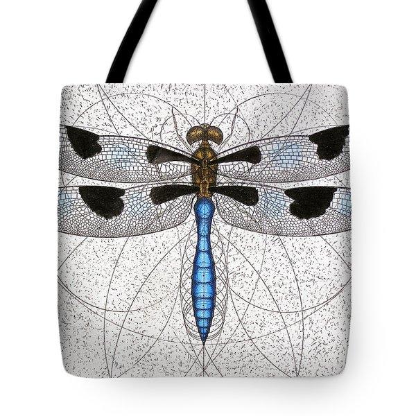 Twelve Spotted Skimmer Tote Bag by Charles Harden