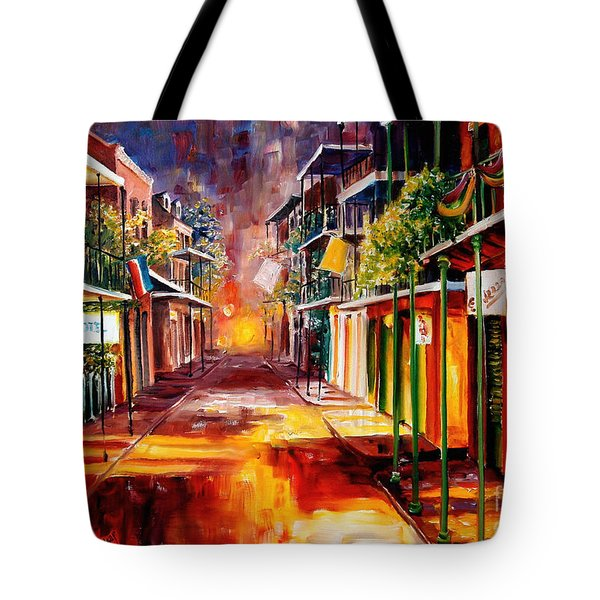Twilight in New Orleans Tote Bag by Diane Millsap