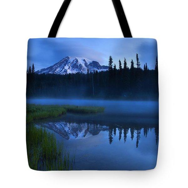 Twilight Majesty Tote Bag by Mike  Dawson
