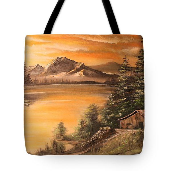 Twilight Tote Bag by Remegio Onia