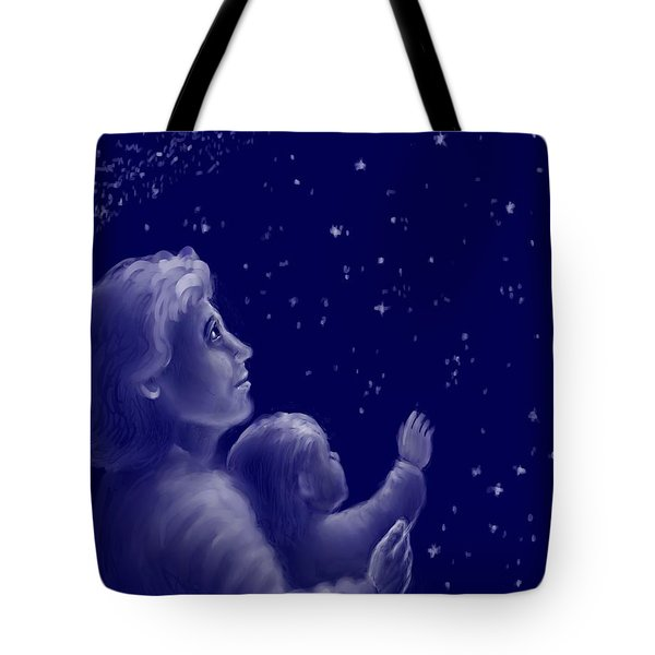 Twinkle Twinkle Little Star Tote Bag by Dawn Senior-Trask