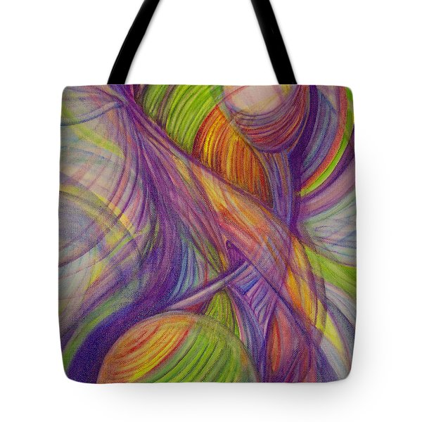 Twist Tote Bag by Caroline Czelatko