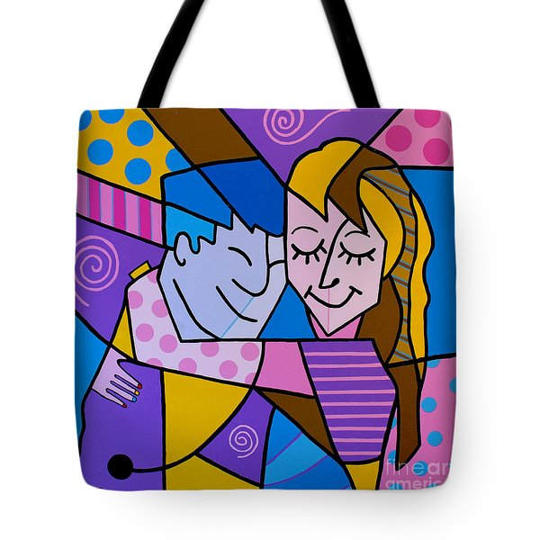 Twu Wuv Tote Bag by Tim Ross