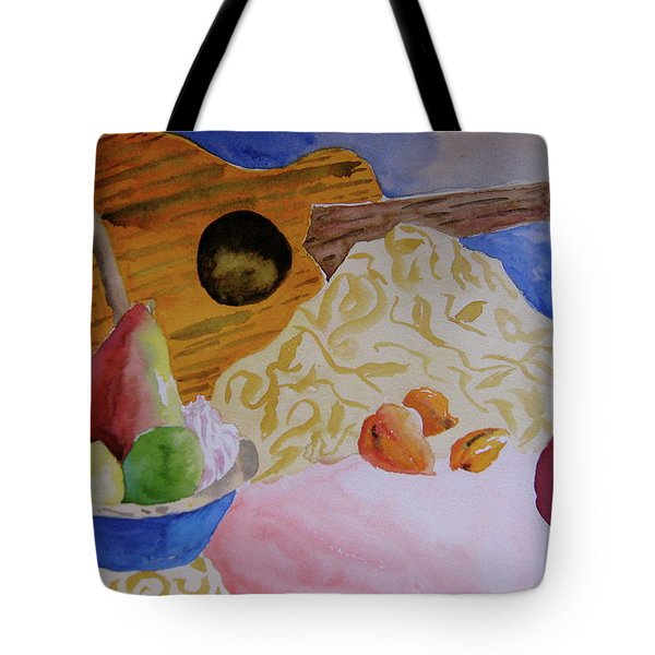 Ukelele Tote Bag by Beverley Harper Tinsley