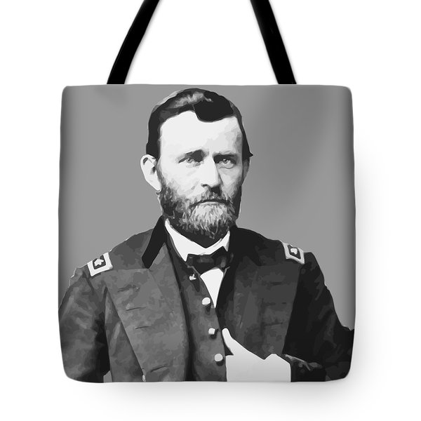 Ulysses S Grant Tote Bag by War Is Hell Store