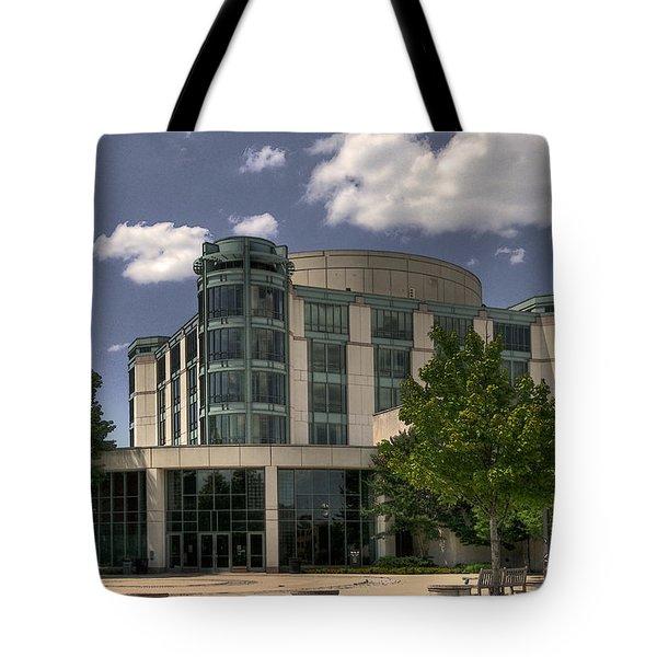 UMBC  Tote Bag by Lois Bryan