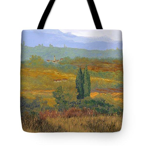 un altro pomeriggio in Toscana Tote Bag by Guido Borelli