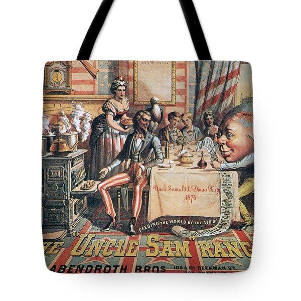 Uncle Sam Range Ad, 1876 Tote Bag by Granger