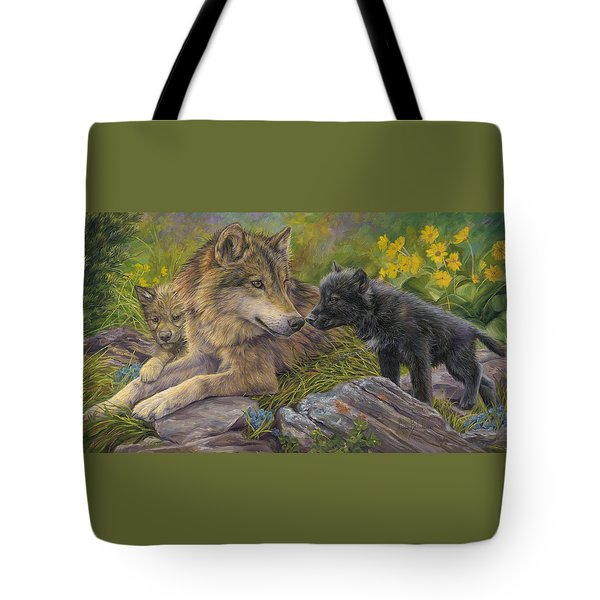 Unconditional Love Tote Bag by Lucie Bilodeau
