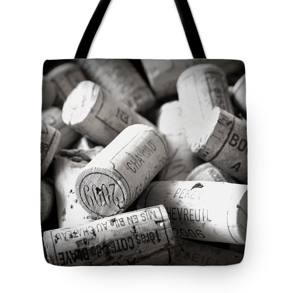 Uncorked Tote Bag by Nomad Art And  Design