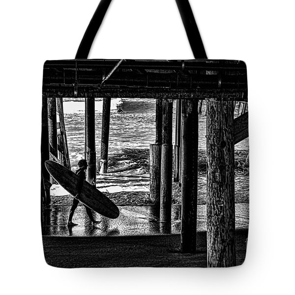 Under The Boardwalk Tote Bag by Tommy Anderson
