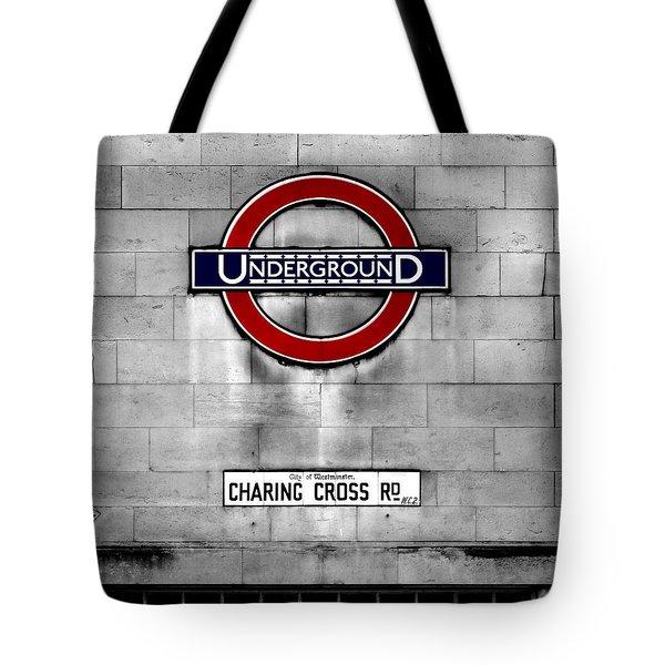 Underground Tote Bag by Mark Rogan