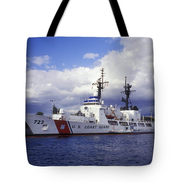 United States Coast Guard Cutter Rush Tote Bag by Michael Wood