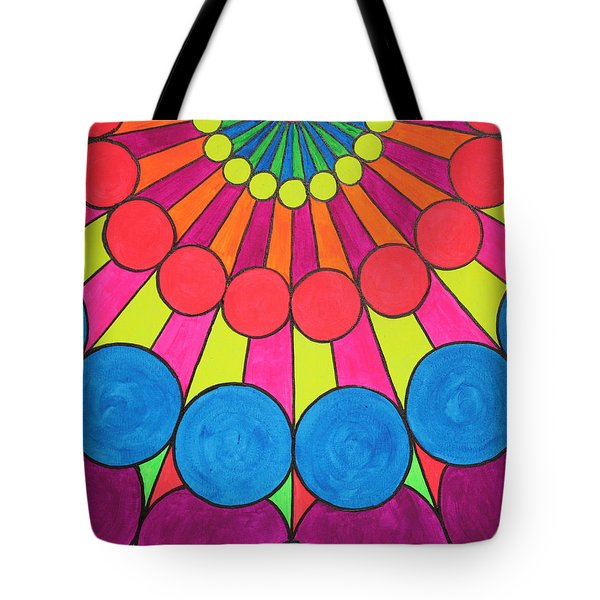 Universal Flower 2 Tote Bag by Ann Sokolovich