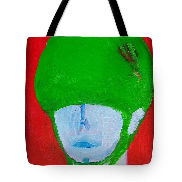 Universal Solider Tote Bag by Judith Redman