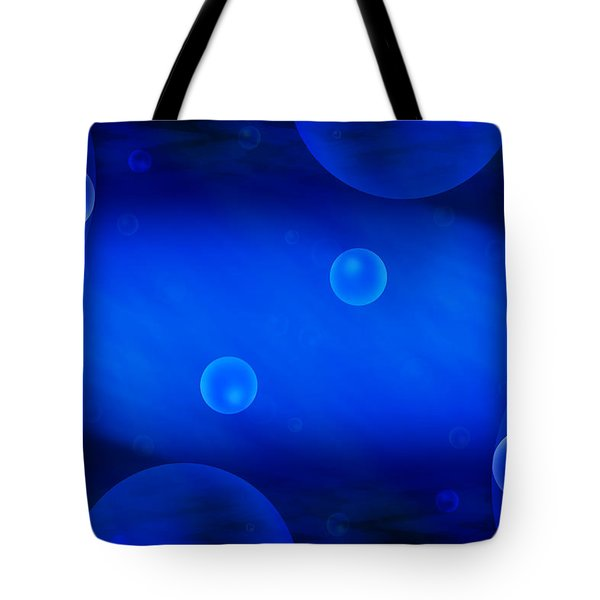 Universe in Blue Tote Bag by Mike McGlothlen