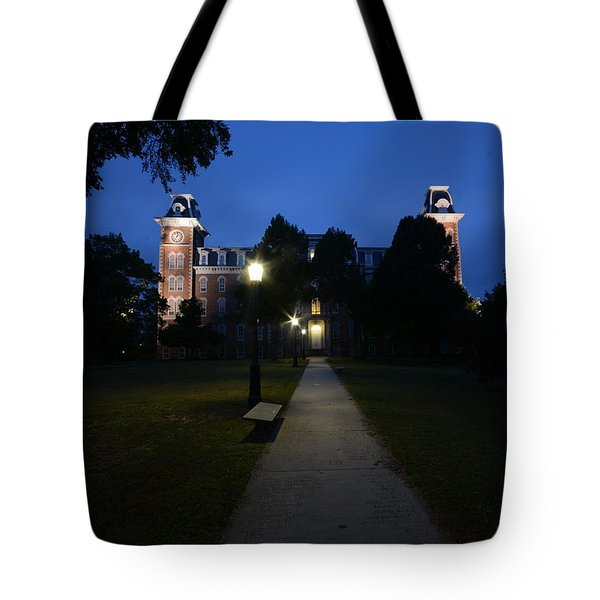 University Of Arkansas Tote Bag by Chris  Look