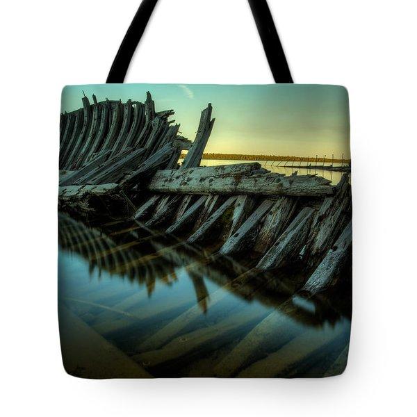 Unknown Shipwreck Tote Bag by Jakub Sisak