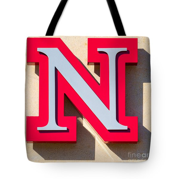 UNL Tote Bag by Jerry Fornarotto
