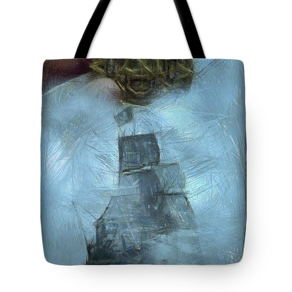 Unnatural Fog Tote Bag by Benjamin Dean