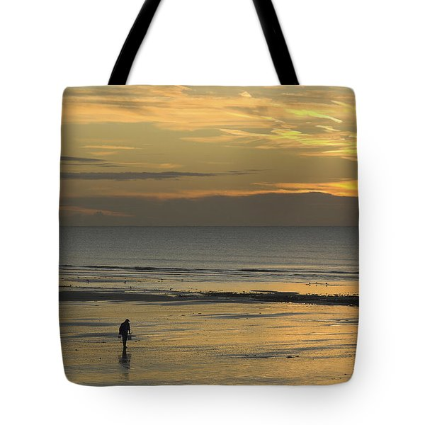 Up At First Light Tote Bag by Hazy Apple
