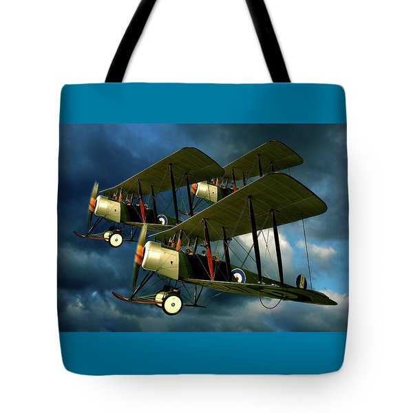 Up In The Air Tote Bag by Steven Agius