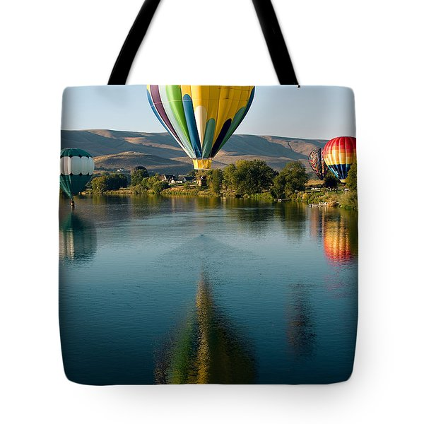 Up Up In The Air Tote Bag by David Patterson