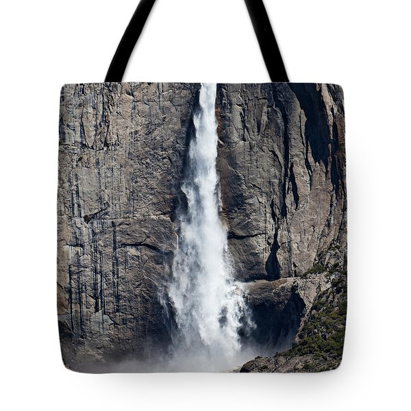 Upper Yosemite Falls Tote Bag by Garry Gay