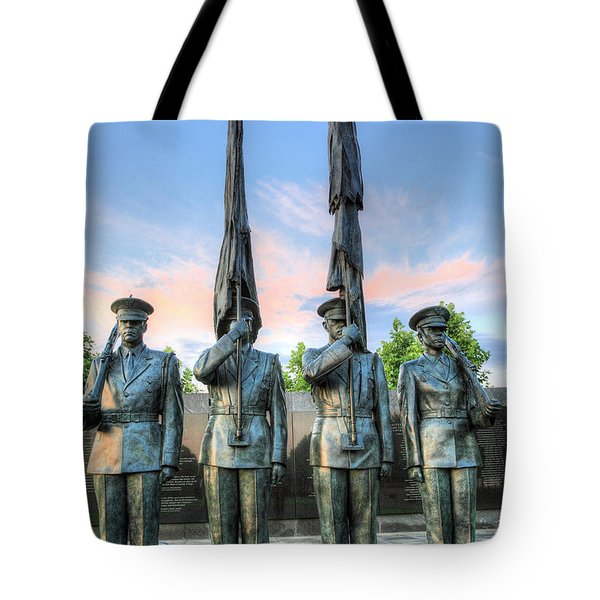 US Air Force Tote Bag by JC Findley